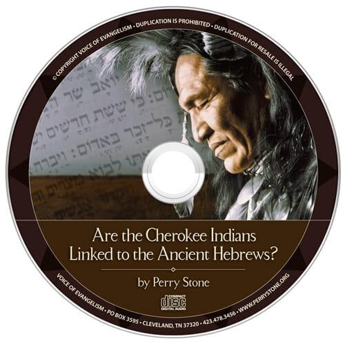 CD004 Cherokee Indian Ancient Hebrew -0