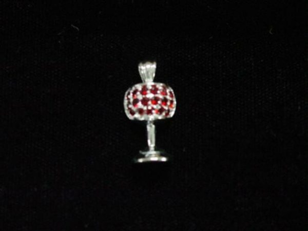 PND-C1 Red Stone Marriage Cup Pendant -0
