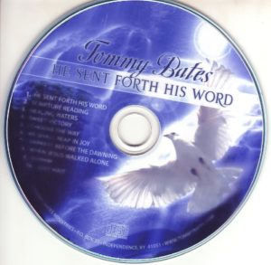 MUS-TB Tommy Bates Music CD -0