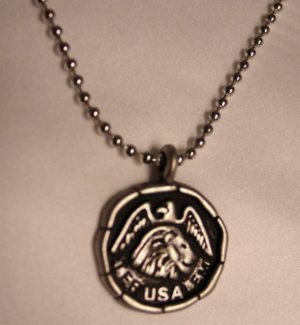 NCKL-LJE Lion of Judah and Eagle Necklace-0