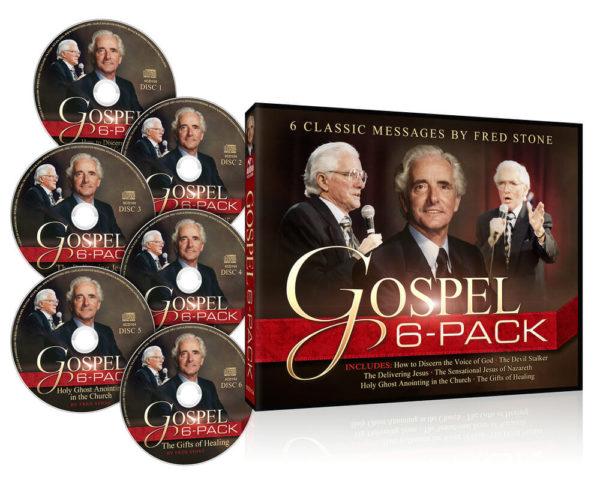 Fred Stone Gospel 6 Pack CD Set-1864