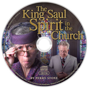 CD114 - CD King Saul Spirit in the Church -0