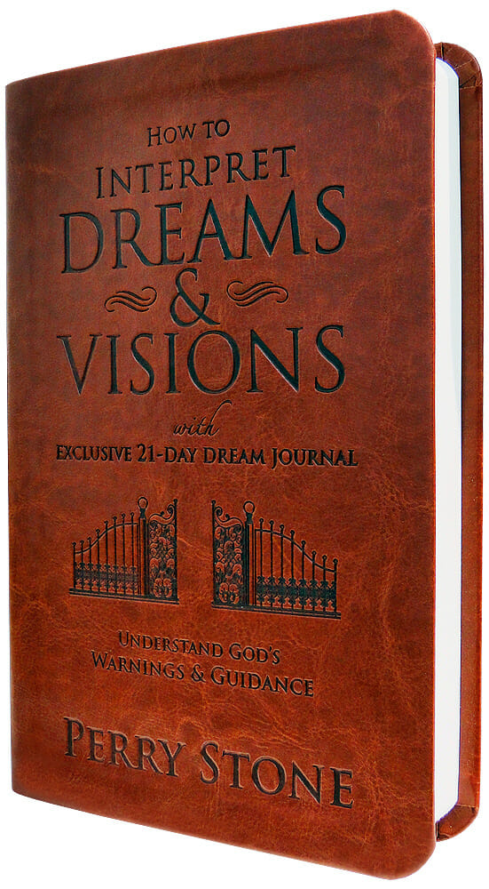 Interpreting Dreams and Visions Book & Journal - Leather Edition-1941