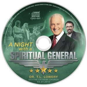 CDO001 OCI-A Night with a Spiritual General - T. L. Lowery-0