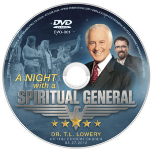 DVD OCI A Night with a Spiritual General (T.L. Lowery)-0