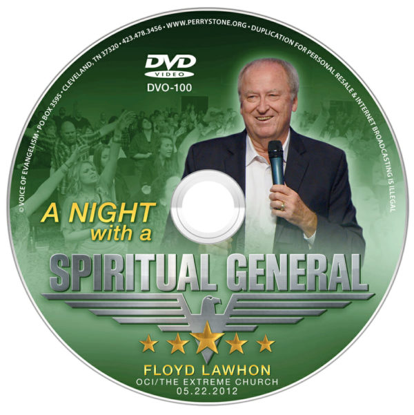 DVD OCI A Night with a Spiritual General (Floyd Lawhon)-0