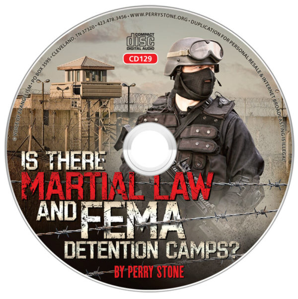 CD129 - CD- Is There Martial Law & Fema Detention Camps?-0