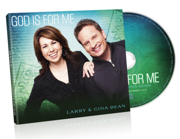 MUS-LG4 God is For Me (Larry & Gina Bean) Worship CD-2303
