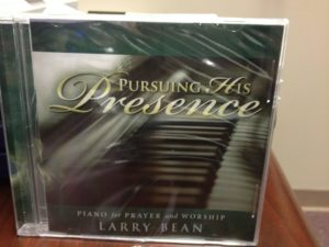 MUS-001 Pursuing His Presence Piano Music CD by Larry Bean -0