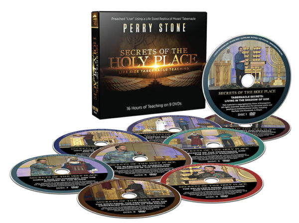 Secrets of the Holy Place Tabernacle Teaching Pkg-3404