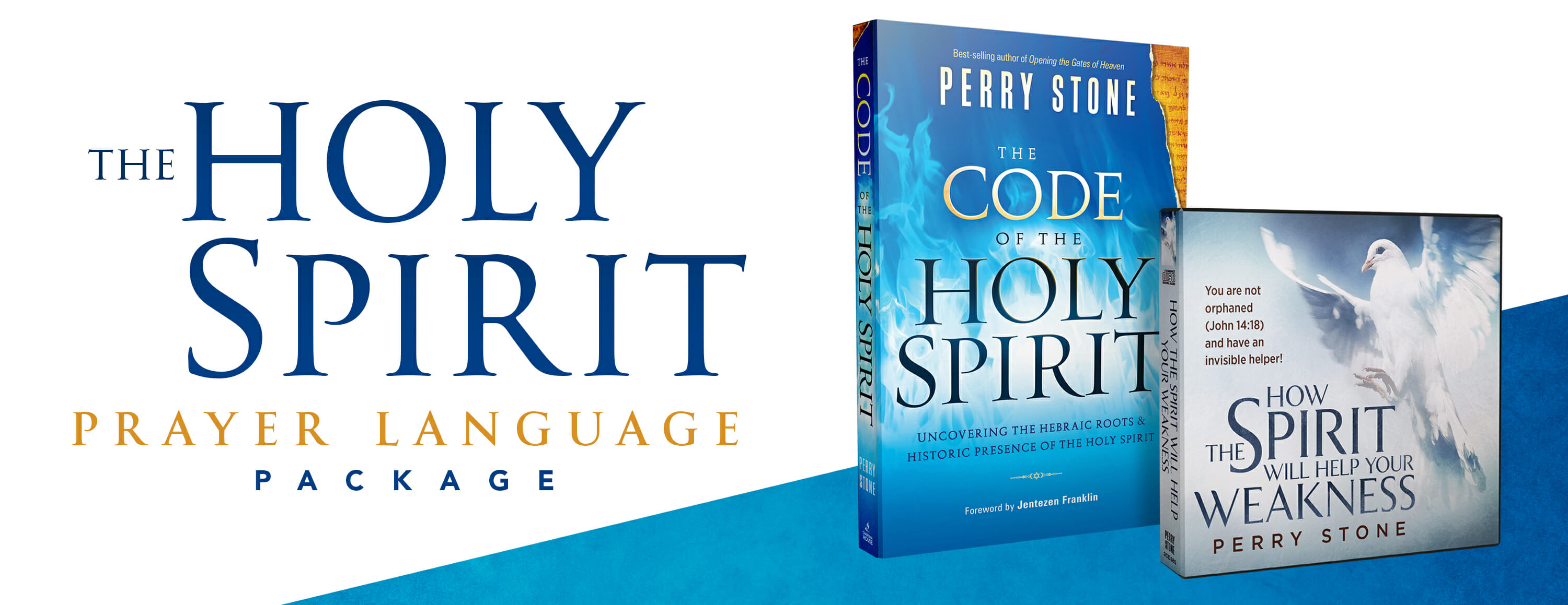 Holy Spirit Prayer Language Pkg