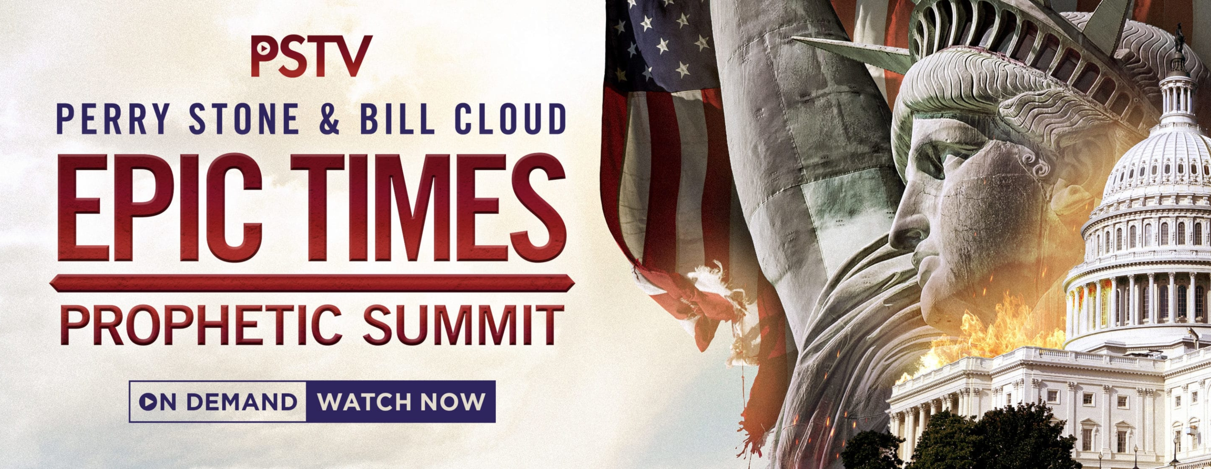 2020 Epic Times Prophetic Summit On Demand – Website Banner