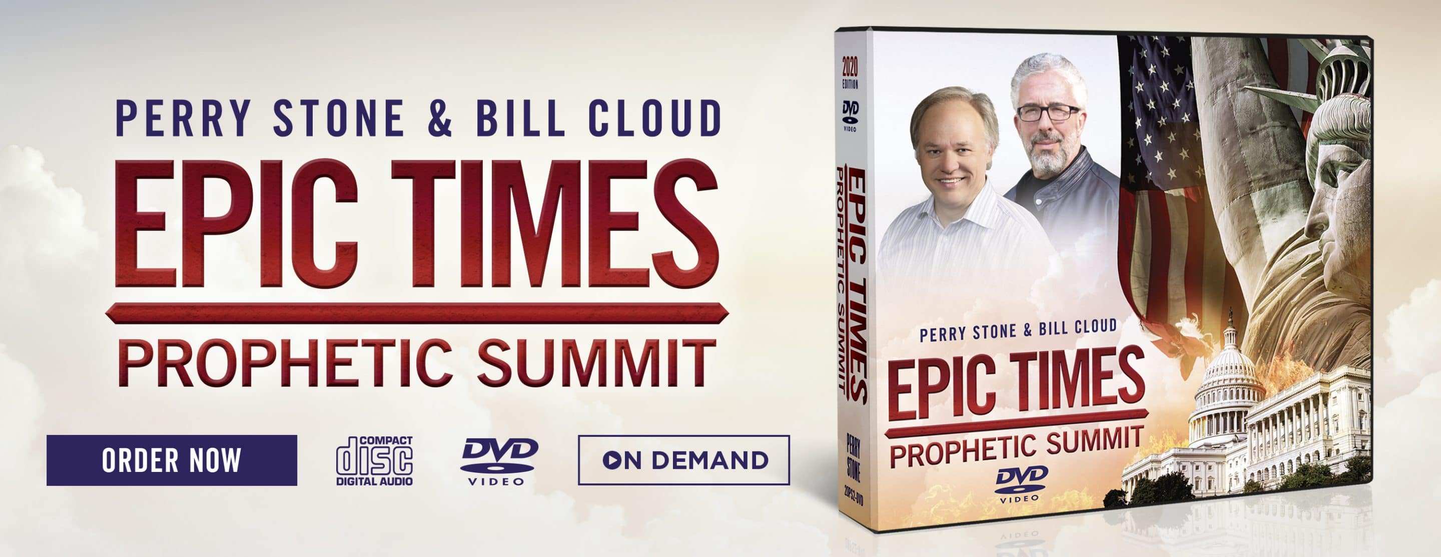 2020 Epic Times Prophetic Summit Product – Website Banner