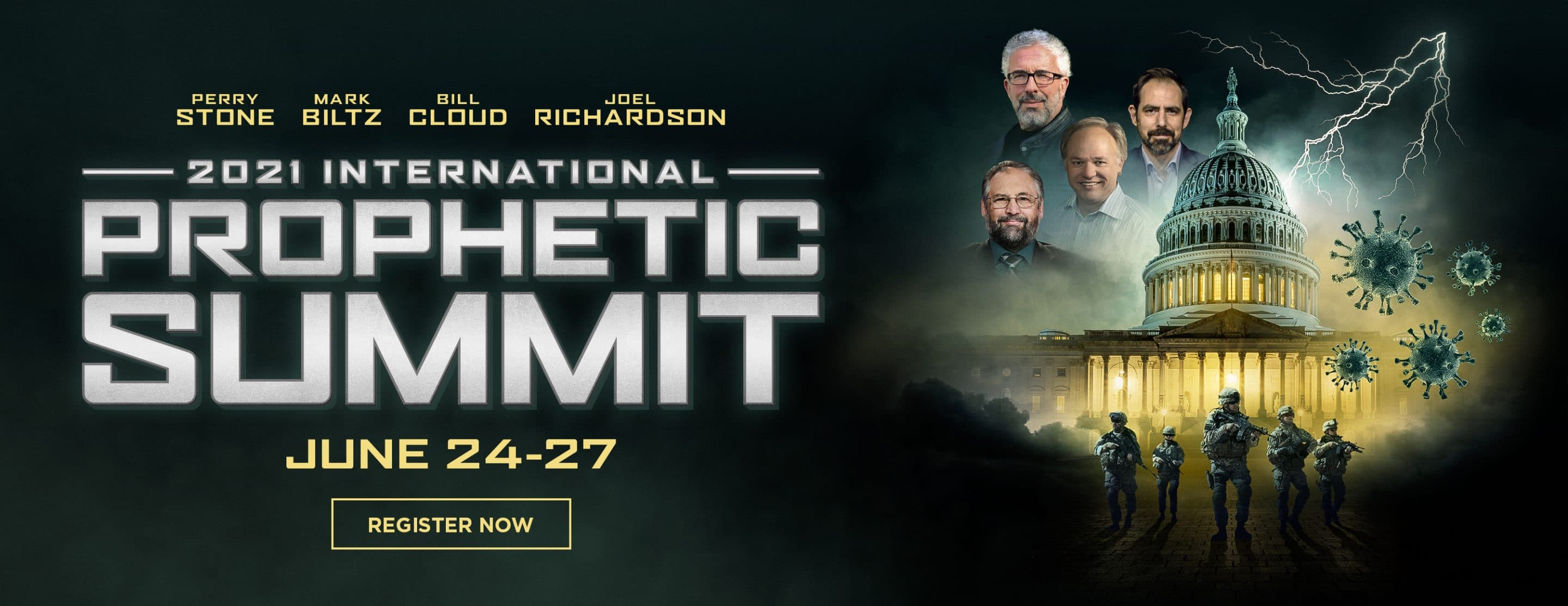 2021 Prophetic Summit – Website Banner