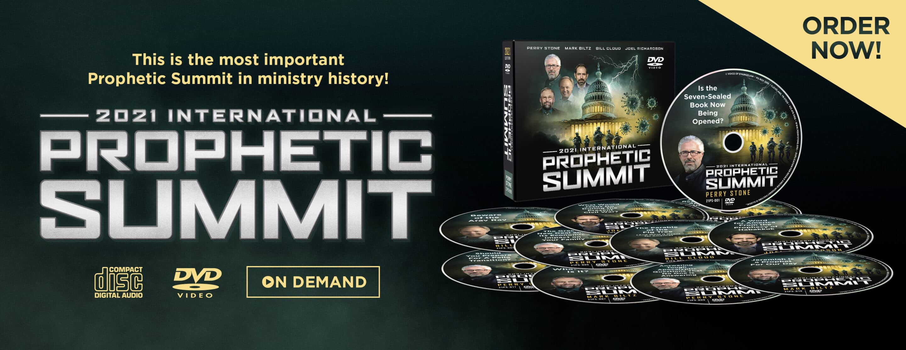 2021 Prophetic Summit Products – Website Banner